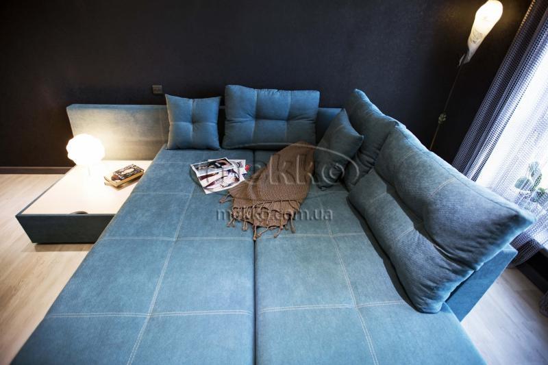 Кутовий диван з поворотним механізмом (Mercury) Меркурій ф-ка Мекко (Ортопедичний) - 3000*2150мм  Білогірськ-3