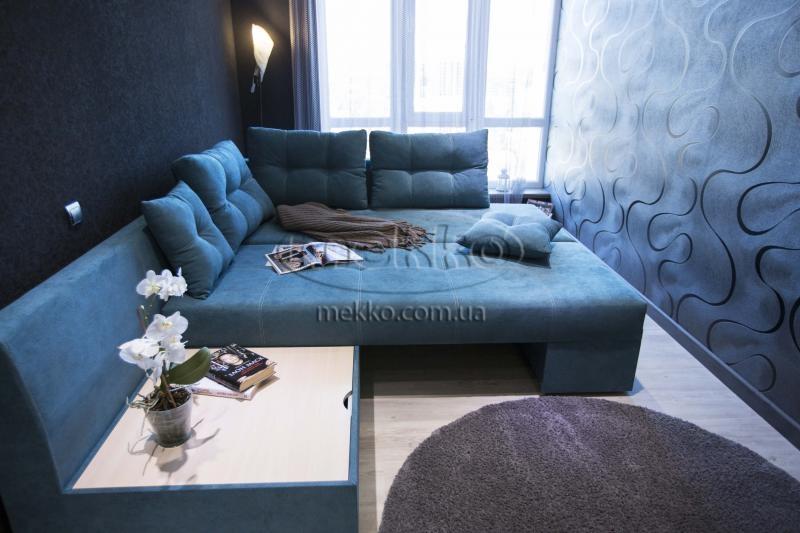 Кутовий диван з поворотним механізмом (Mercury) Меркурій ф-ка Мекко (Ортопедичний) - 3000*2150мм  Білогірськ-4