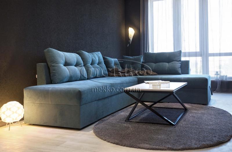 Кутовий диван з поворотним механізмом (Mercury) Меркурій ф-ка Мекко (Ортопедичний) - 3000*2150мм  Білогірськ