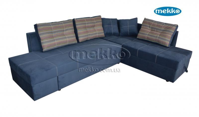 Кутовий диван з поворотним механізмом (Mercury) Меркурій ф-ка Мекко (Ортопедичний) - 3000*2150мм  Білогірськ-13