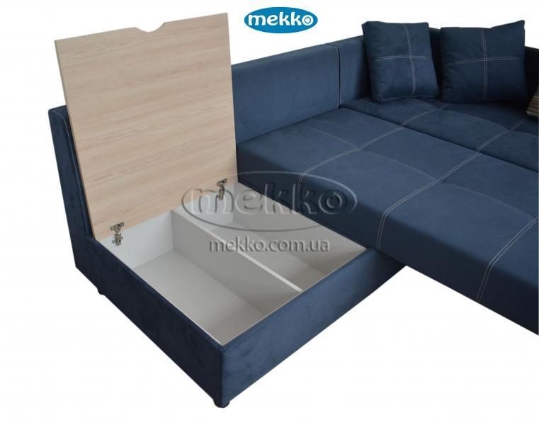 Кутовий диван з поворотним механізмом (Mercury) Меркурій ф-ка Мекко (Ортопедичний) - 3000*2150мм  Білогірськ-18