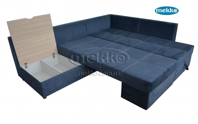 Кутовий диван з поворотним механізмом (Mercury) Меркурій ф-ка Мекко (Ортопедичний) - 3000*2150мм  Білогірськ-19