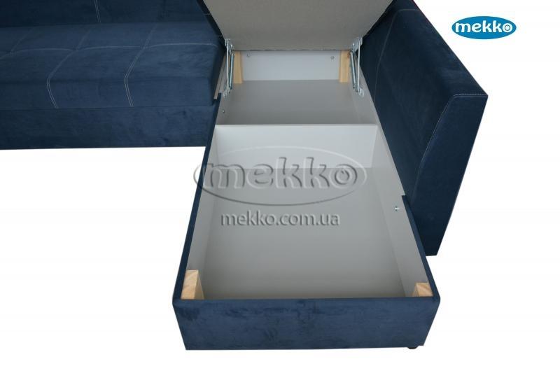 Кутовий диван з поворотним механізмом (Mercury) Меркурій ф-ка Мекко (Ортопедичний) - 3000*2150мм  Білогірськ-20