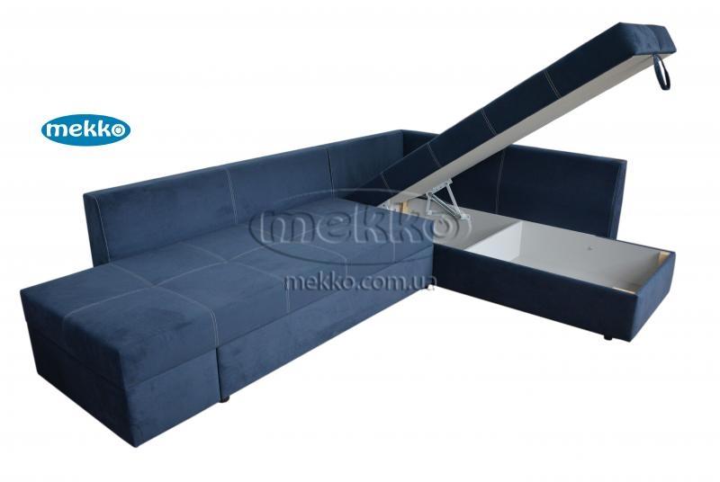 Кутовий диван з поворотним механізмом (Mercury) Меркурій ф-ка Мекко (Ортопедичний) - 3000*2150мм  Білогірськ-14