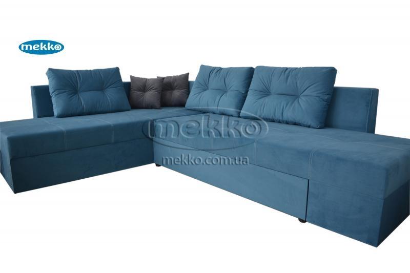 Кутовий диван з поворотним механізмом (Mercury) Меркурій ф-ка Мекко (Ортопедичний) - 3000*2150мм  Білогірськ-11