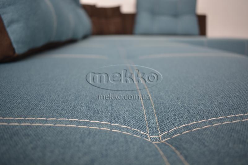 Кутовий диван з поворотним механізмом (Mercury) Меркурій ф-ка Мекко (Ортопедичний) - 3000*2150мм  Білогірськ-9