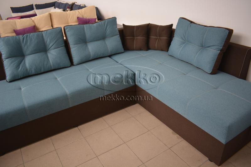 Кутовий диван з поворотним механізмом (Mercury) Меркурій ф-ка Мекко (Ортопедичний) - 3000*2150мм  Білогірськ-8