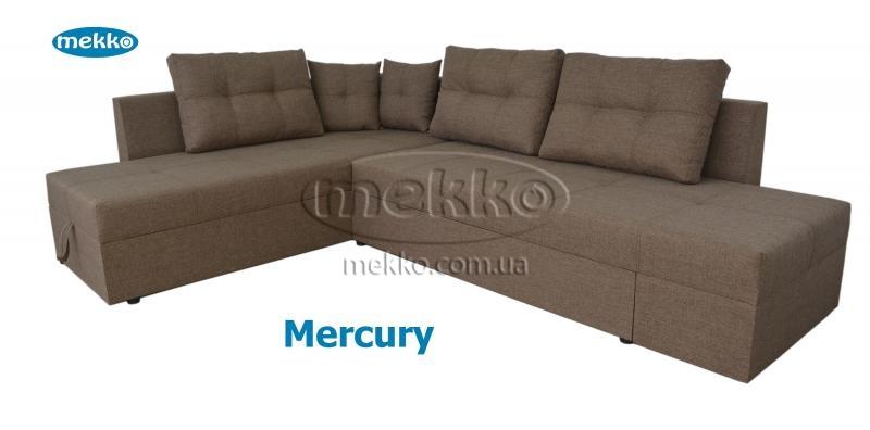 Кутовий диван з поворотним механізмом (Mercury) Меркурій ф-ка Мекко (Ортопедичний) - 3000*2150мм  Білогірськ-12